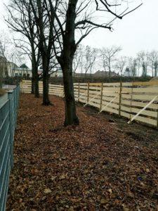 Baumschutzzaun-Nuernberg Baumpflege Stock